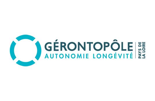 Logo Gérontopôle autonomie longévité