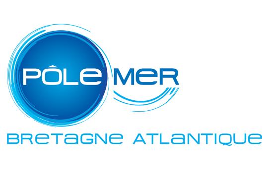 Logo Pôle mer Bretagne Atlantique
