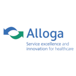 Alloga logo - Service excellence and innovation for healthcare