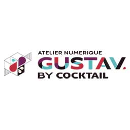 logo Gustav by cocktail