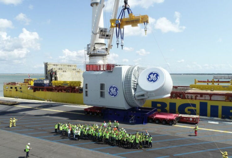 GE Haliade X offshore wind turbine