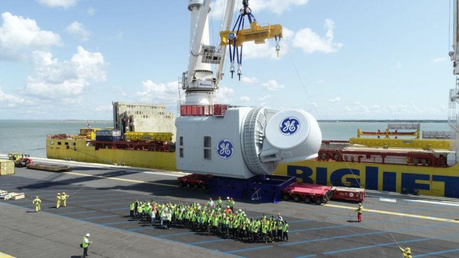 GE Haliade X offshore wind turbine