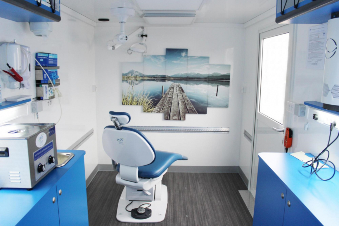 Gruau Group mobile dentistry unit