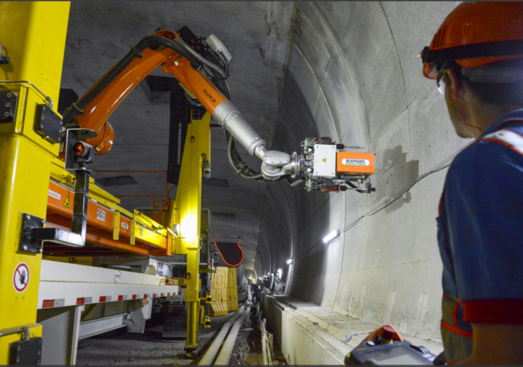 Drilling robot Capacites Bouygues TP