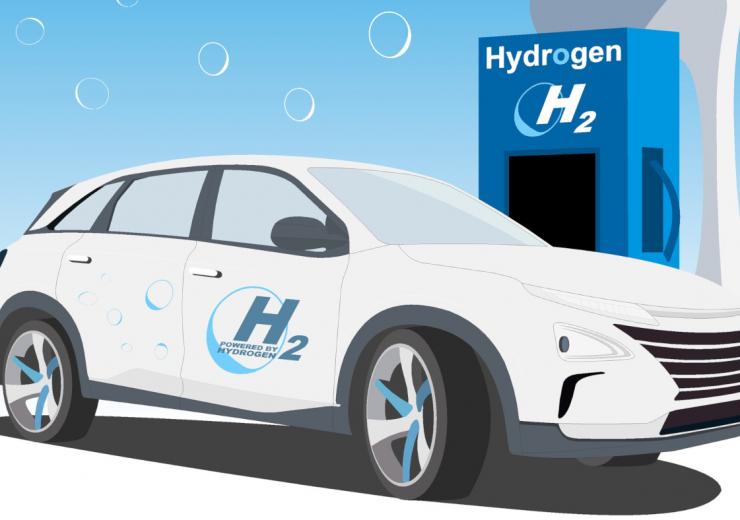 Hydrogen car - Lhyfe