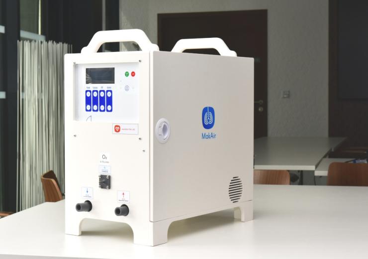 MakAir artificial ventilator