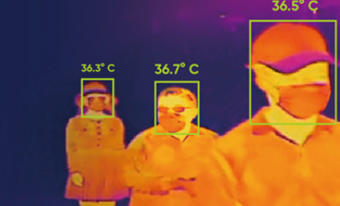 Timcod thermographic cameras against Covid-19