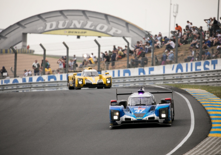 24 hours of Le Mans race