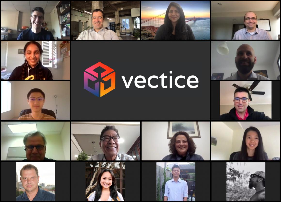 Vectice team - digital startup in Atlantic France