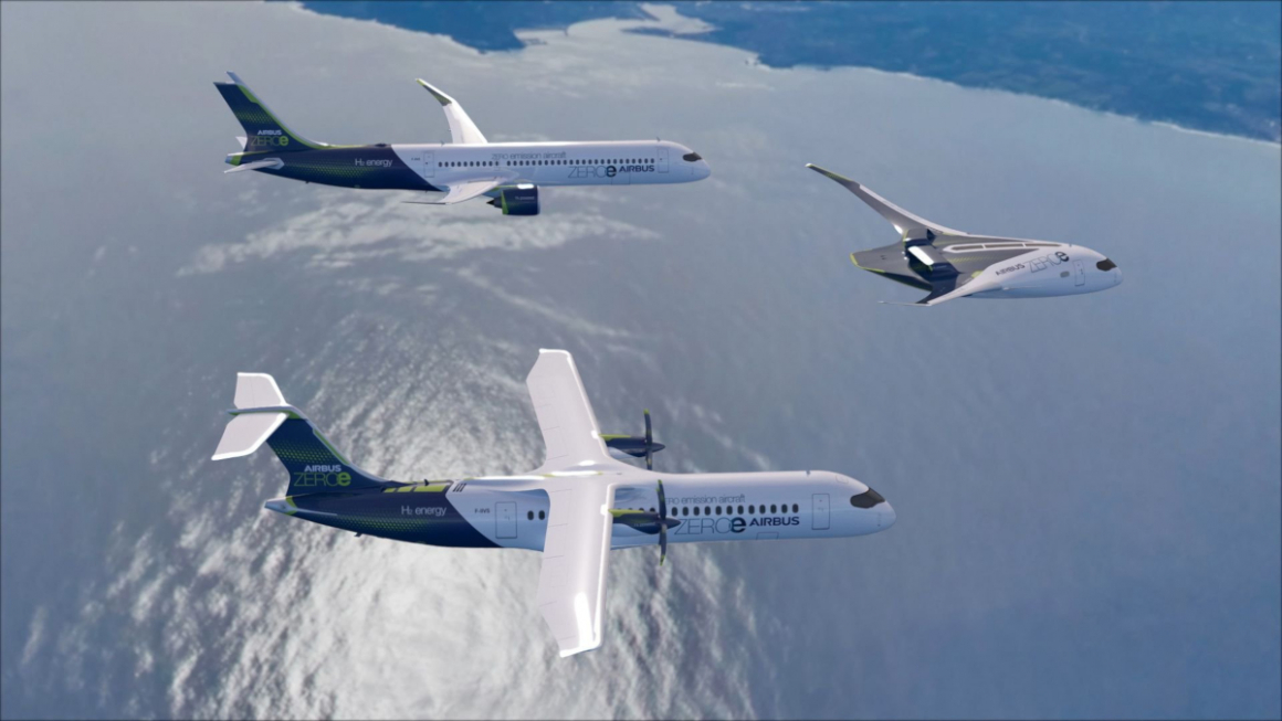 Airbus - ZEROe concept aircraft