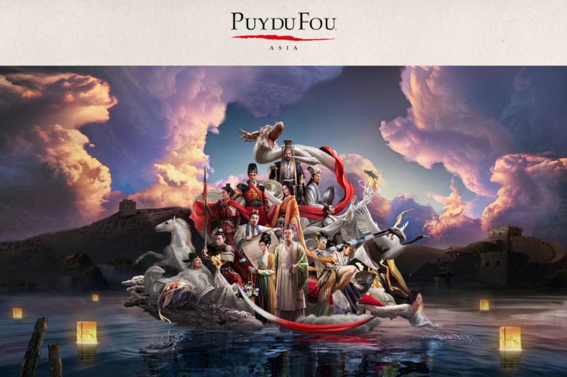 Puy du Fou entertainement park in Asia