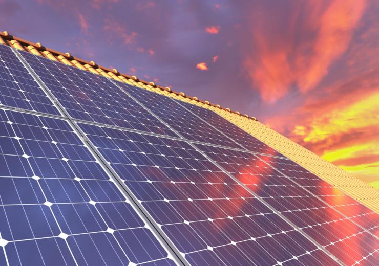 Solar panels Lafarge Atlantic France