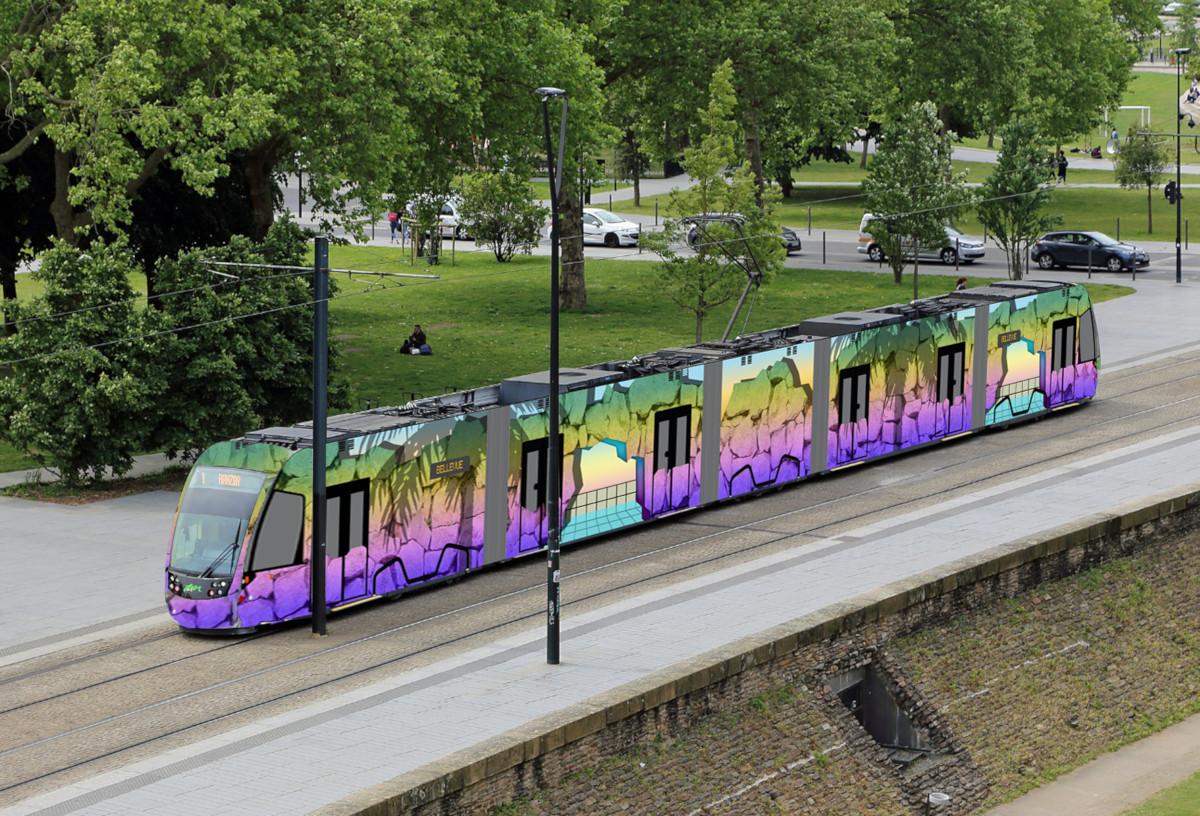 Voyage à Nantes - tramway