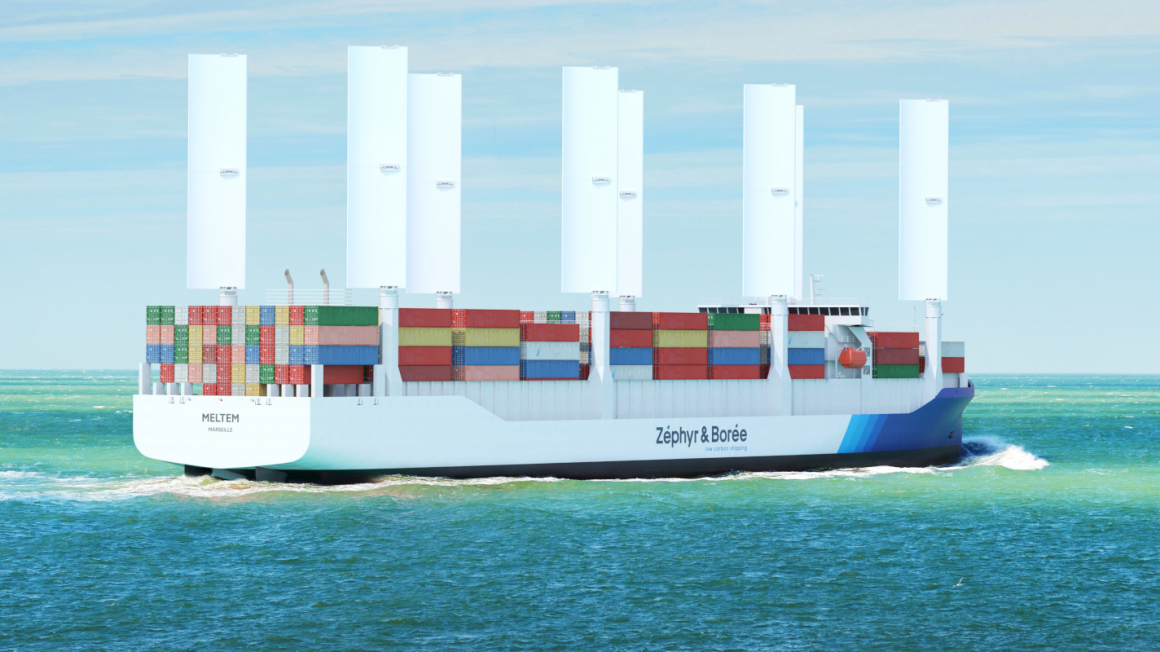 Zéphyr et Borée innovative cargo ship
