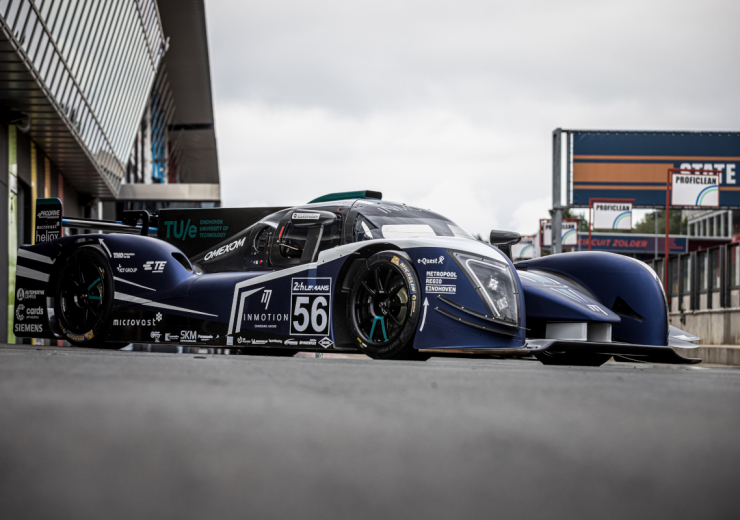 InMotion electric racing car Le Mans
