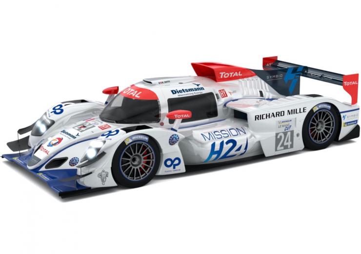 H24 Hydrogen racing car Le Mans Dietsmann